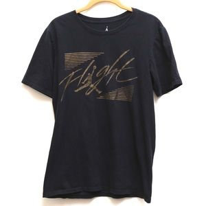 Michael Jordan Flight gold logo T-shirt